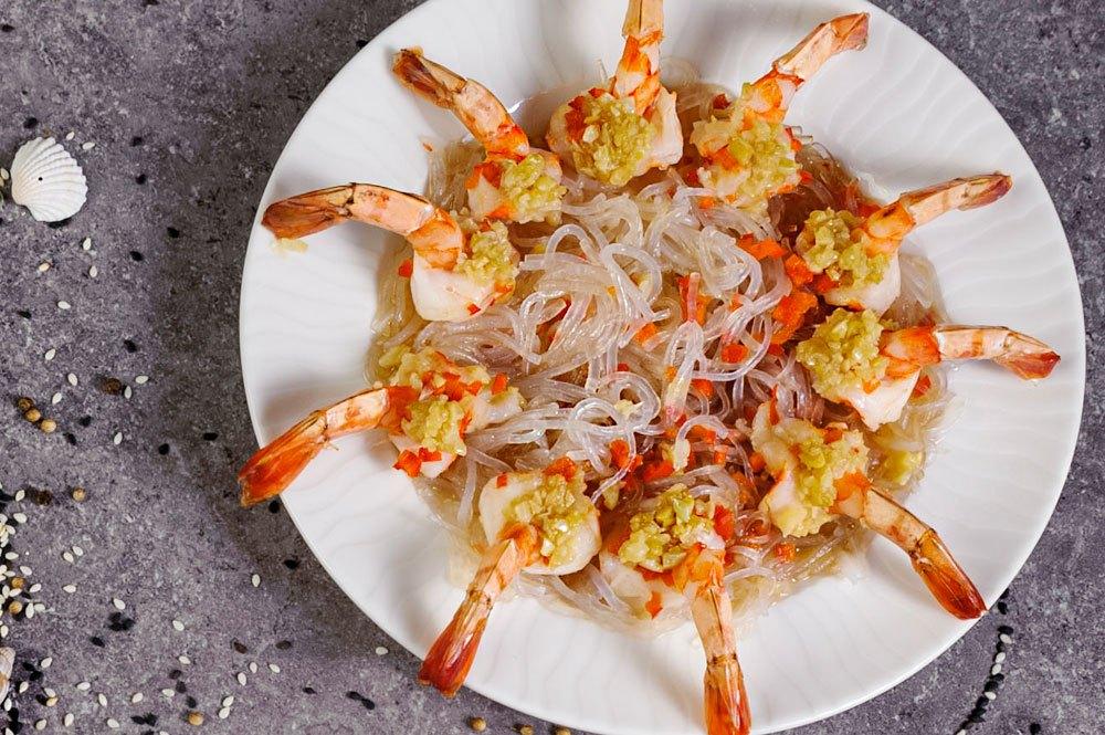Shrimps on steam C5