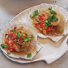 L5 SCALLOPS WITH GLASS NOODLES