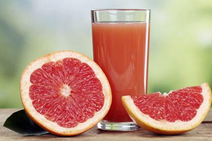 Grapefruit juice T18
