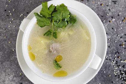 B11 Нежный суп с уткой