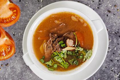 B6 Суп с говядиной