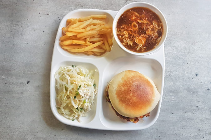 Bento-lunch E (Monday,Wednesday,Friday)