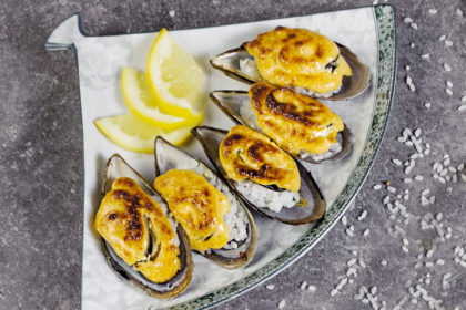 """The baked mussels """"Spaysi"""" C6"""