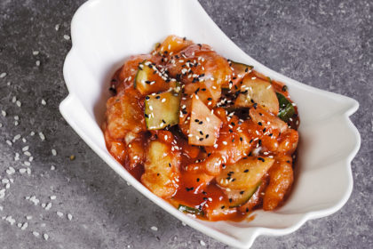 Pike perch in sweet-sour sauce D9