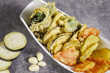 Vegetables fried in tempura G4