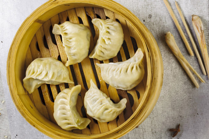 Jiaozi with chicken J6