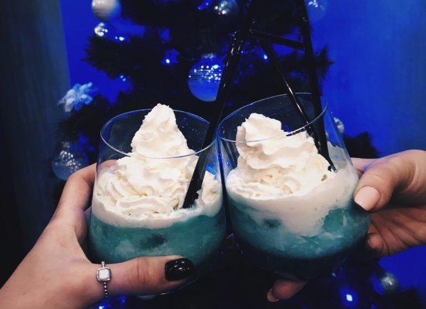 Новогодние зимние коктейли